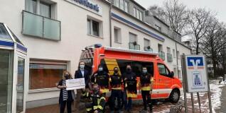 Spende für den Förderverein der Feuerwehr Barsbüttel