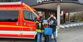200 FFP2-Masken für die Feuerwehr Barsbüttel
